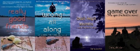 spin the bottle YA book series